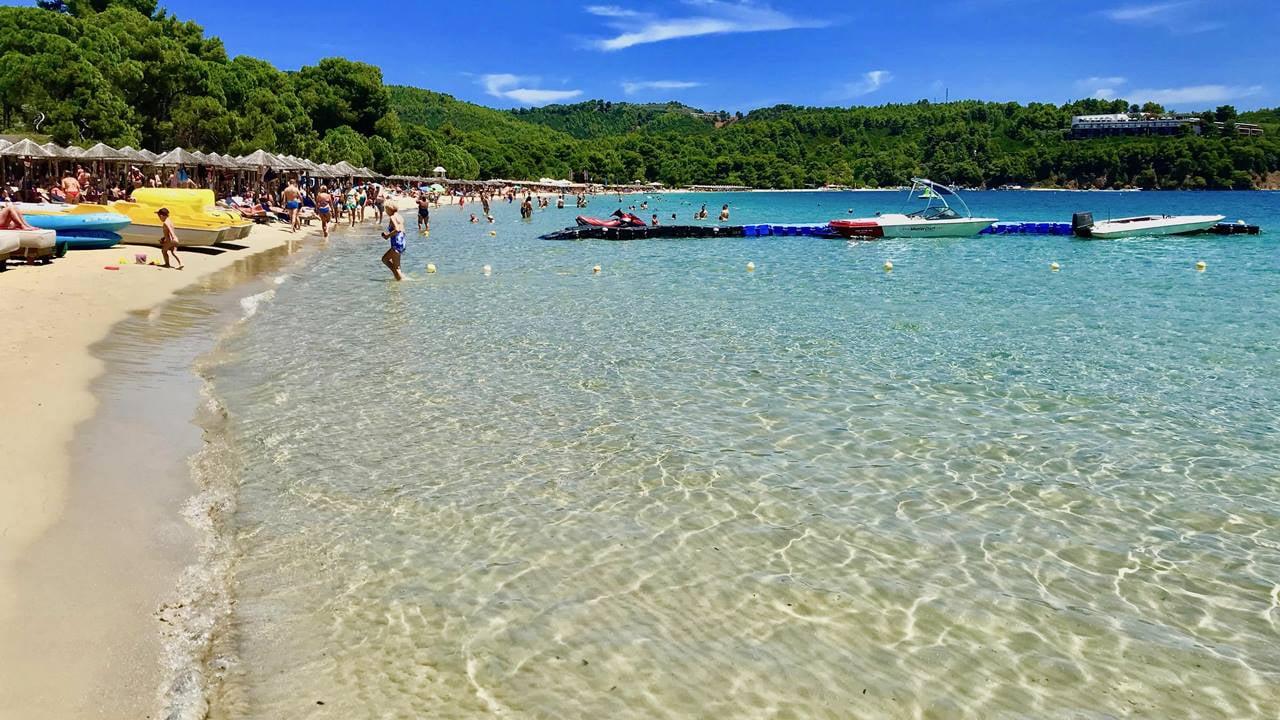 Koukounaries Plajı
