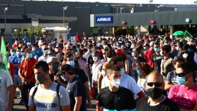 Photo of Binlerce İspanyol'dan Airbus Protestosu