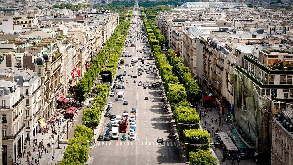 Dünyanın En Ünlü Caddeleri: Champ Elysees