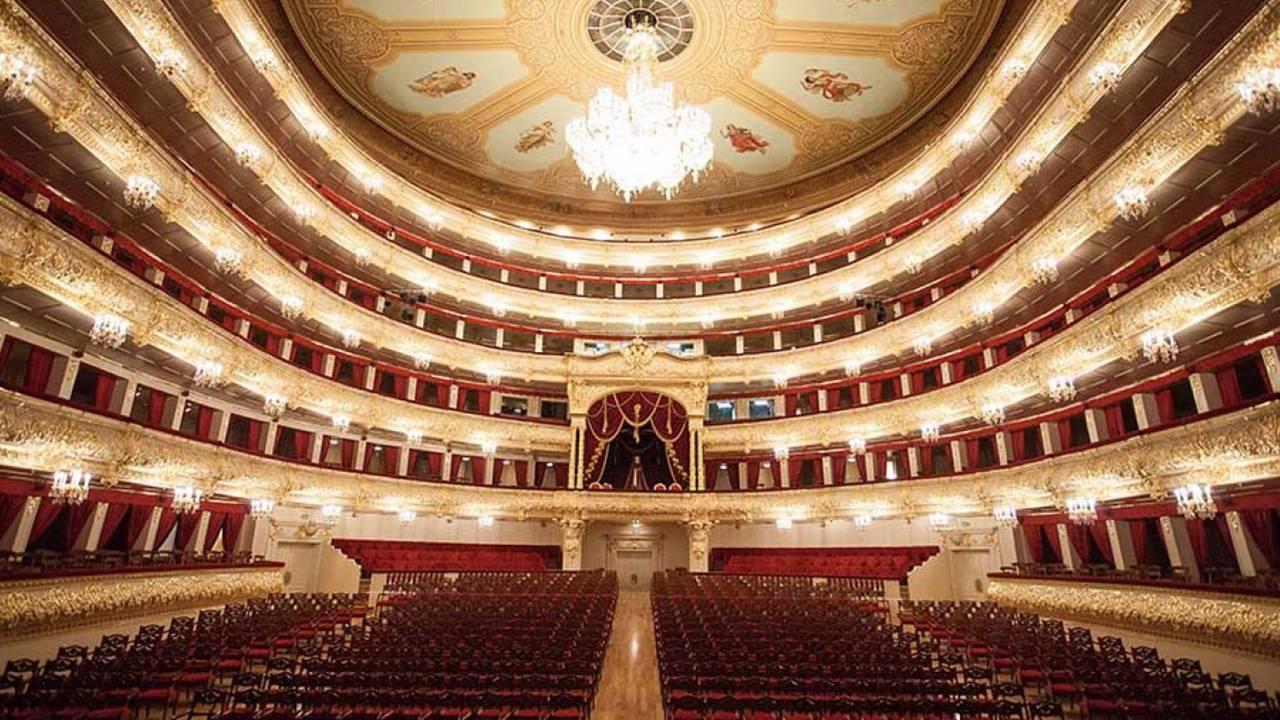 En Güzel Opera Binaları: Bolşoy Tiyatrosu