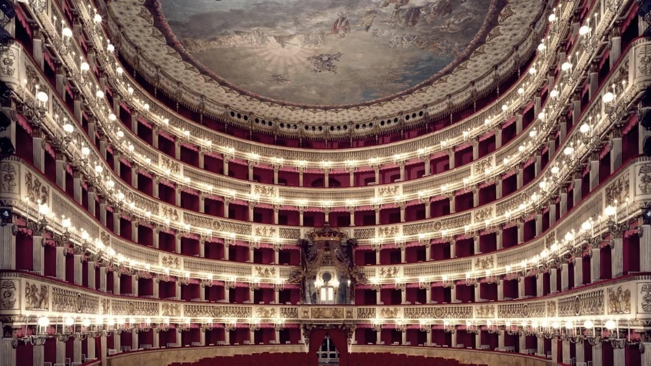 En İyi Opera Binaları: San Carlo