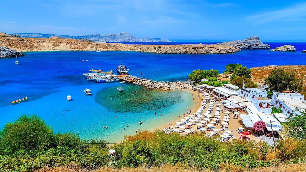 En İyi Yunanistan Plajları: Lindos