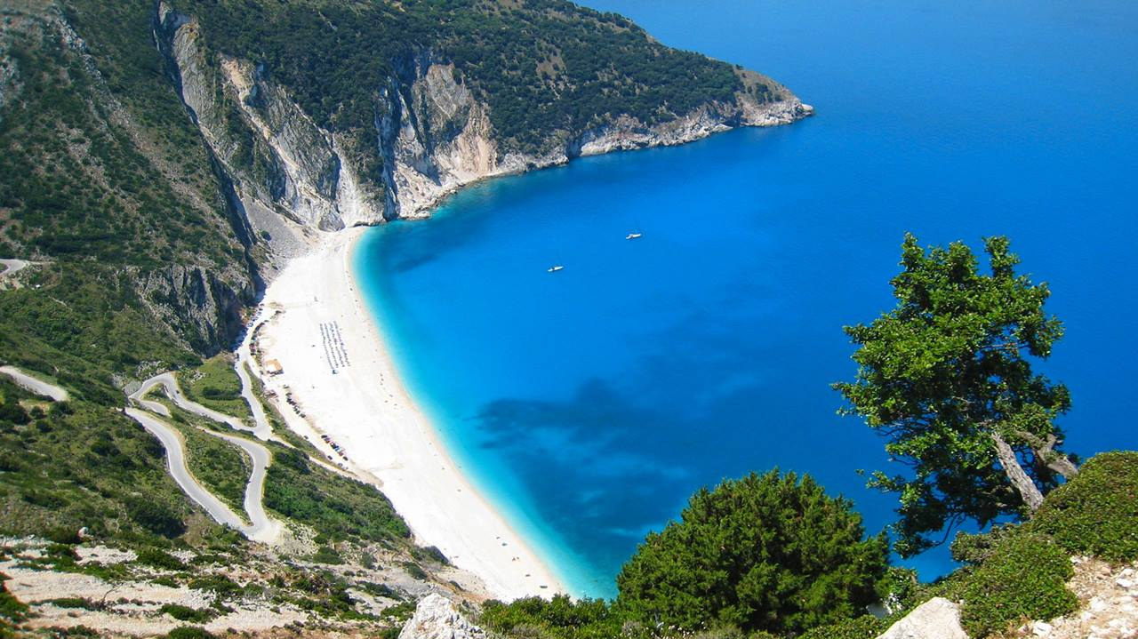 En İyi Yunanistan Plajları: Myrtos