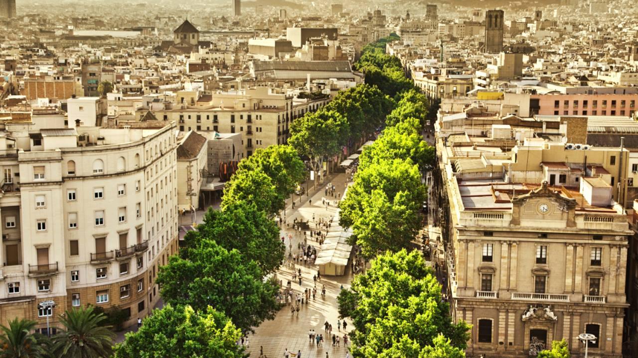 En Ünlü Caddeler: La Rambla