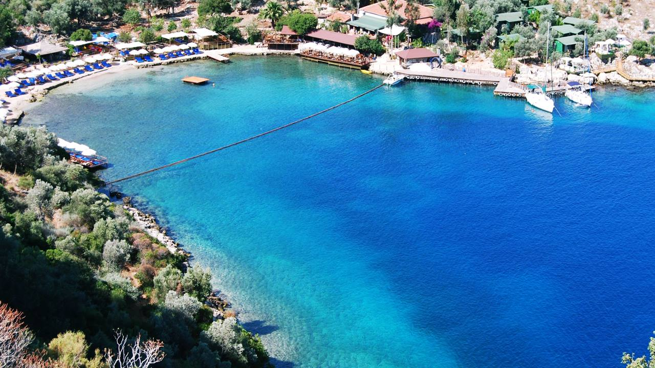 Limanağzı Plajı - Kaş