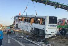 Photo of Pendik'te Yolcu Otobüsü Devrildi: 11 Yaralı