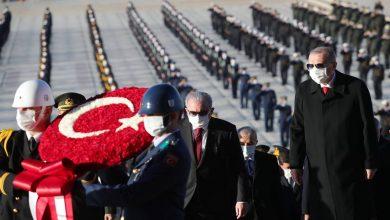 Photo of Anıtkabir'deki Devlet Törenine Erdoğan da Katıldı