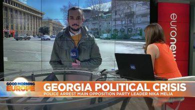 Photo of Gürcistan'da Nika Melia gözaltına alındı
