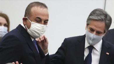 Photo of Çavuşoğlu ile Blinken bir araya geldi