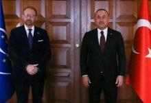 Photo of Dışişleri Bakanı Çavuşoğlu, Rik Daems ile görüştü