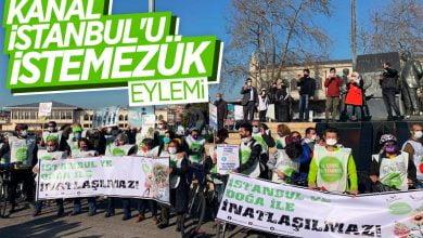 Photo of Kadıköy'de Kanal İstanbul eylemi
