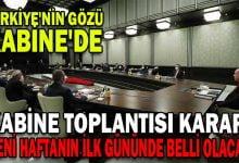 Photo of TÜRKİYE'NİN GÖZÜ KABİNE'DE