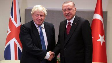 Photo of Cumhurbaşkanı Erdoğan ile Boris Johnson görüştü