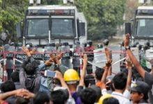 Photo of Myanmar'da darbe karşıtı gösterilerde 7 kişi öldü